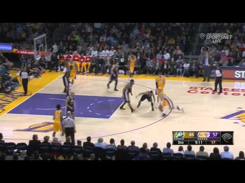 Kendall Marshall(20 pts 15 assists 6 rebounds) vs the Jazz