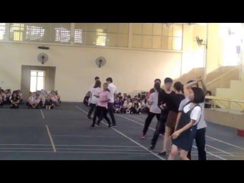 Giáo dục thể chất 2 Đại học Ngoại Thương FTU - Dancesport Chacha