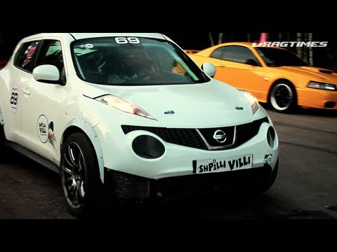 Nissan Juke-R and Jeep SRT-8 Twin Turbo - Unlim 500+ 2012, SUV TOP-3