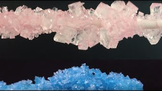 Rock Candy Recipe Big Sugar Crystals HOW TO COOK THAT Ann