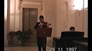 Berceuse per violino e piano - Mario Guido Scappucci
