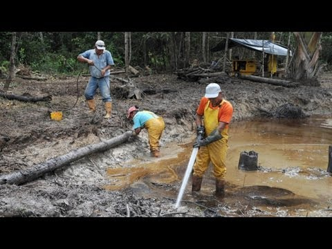 Ecuador Takes on Chevron, Global Indifference in Controversial Fights to Protect Rainforest 1/2