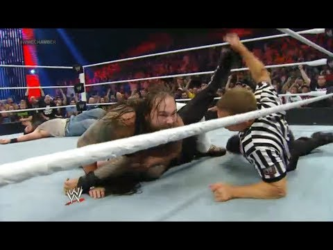 The Wyatt Family Defeat The Shield - WWE Elimination Chamber 2014 PPV Highlights / Review