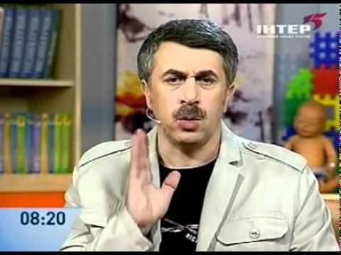Дети и увлажнители воздуха: школа доктора Комаровского