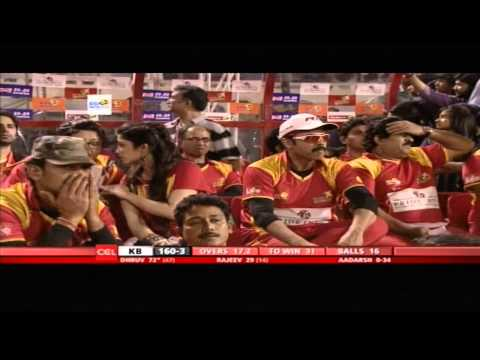 Telugu Warriors Vs Karnataka Bulldozers | 2nd Inn | Over 10-20 | Hyderabad