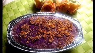 Ube Malagkit (Rice Biko) by Luweeh's Tagalog Kitchen