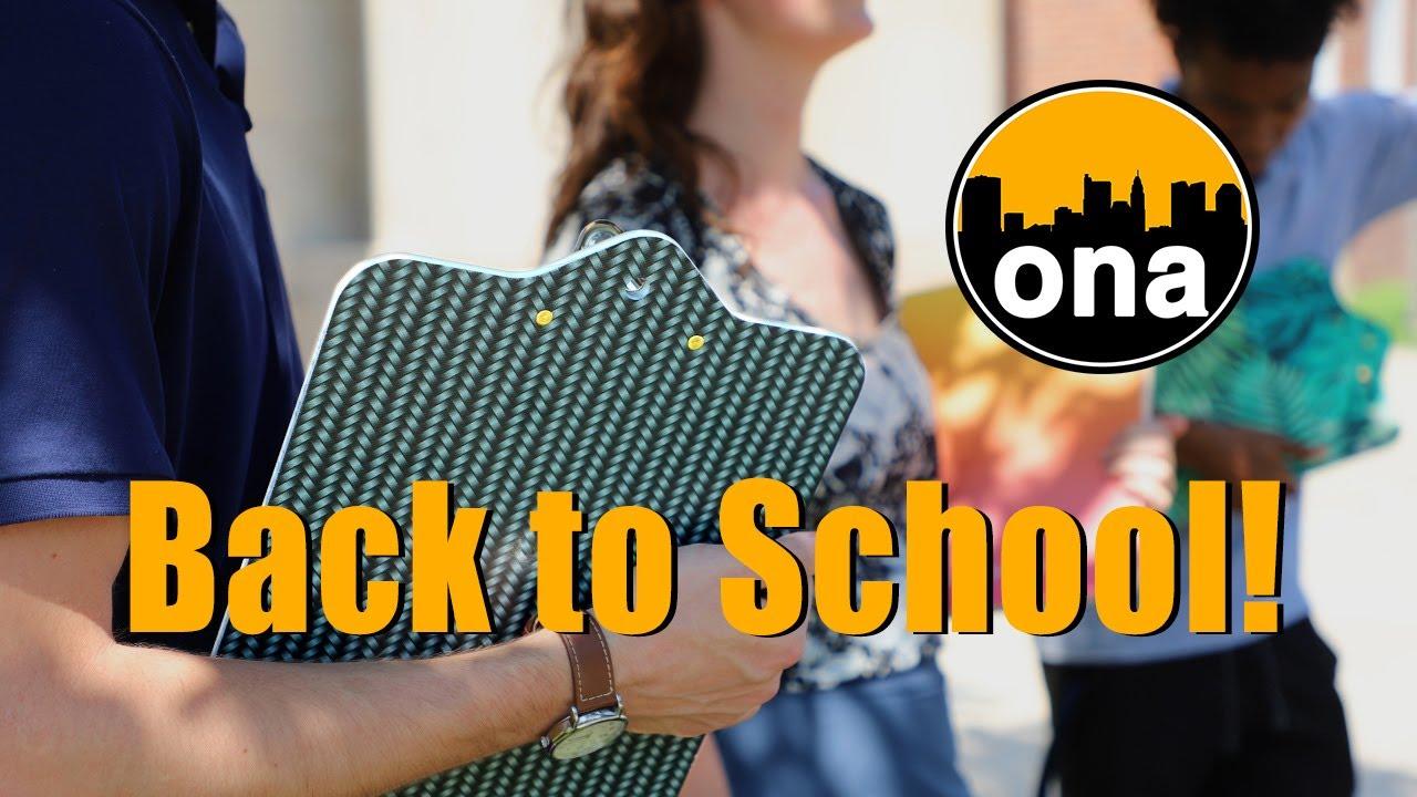Back to School! ONA 08-20-2021