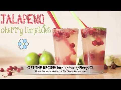 Fizzy Jalapeno Cherry Limeade Recipe