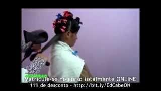 Curso De Cabeleireiro: Como Fazer Escova Em Cabelo Afro