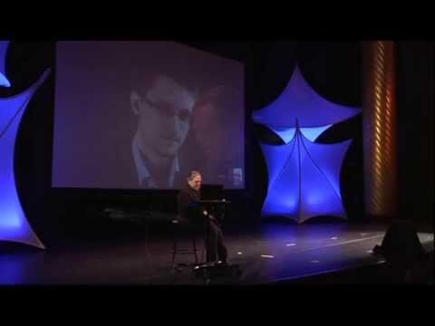 Edward Snowden John Perry Barlow