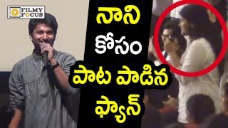 Nani's Punjabi lady fan sings 'Varsham Munduga' Telugu son..