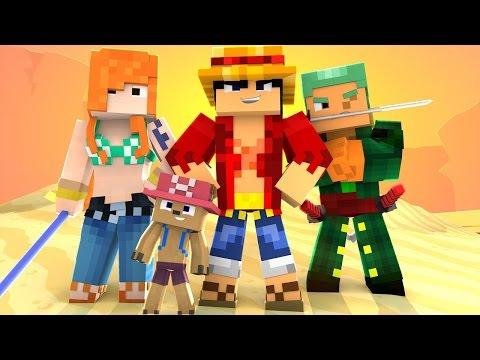 Minecraft One Piece Tập 50 - Hải Tặc Mạnh Nhất Vịnh Bắc Bộ | POBBrose ✔