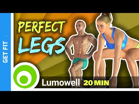 Perfect Legs Workout 20 Minute Exercises To Lose Leg Fat