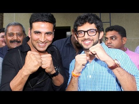 Akshay Kumar launches self-defence centre with Aditya Thackrey