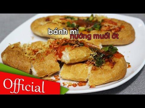 Cách làm bánh mì nướng muối ớt Khmer gây sốt  tại nhà | Món ăn vặt