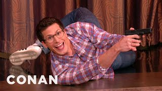 Andy Samberg Proves He's Got Action Star Potential