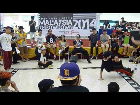 Malaysia Throwdown 2014 - All Style Top 16 - Bear Teo vs Teddy