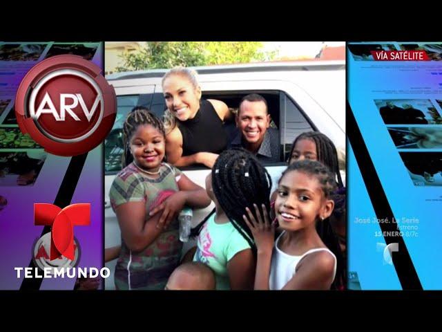 VIRAL: JLo y ARod llevan ayuda millonaria a Puerto Rico