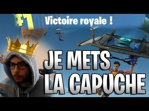 CAPUCHE ON, NO BONOBO POUR LE TOP 1 ?! (Fornite Battle Royale)