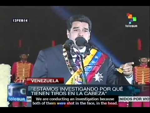 They want to stain Victory Battle's Bicentenary with blood: N. Maduro