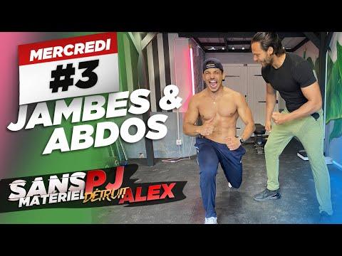 PJ COACH ALEX EN LIVE : ABDOS & JAMBES au poids du corps 🔥 🍫