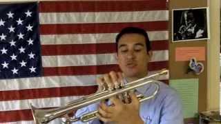 Como tocar la trompeta. La afinación