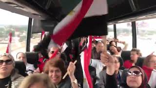 استعدادات الجالية المصرية في أمريكا