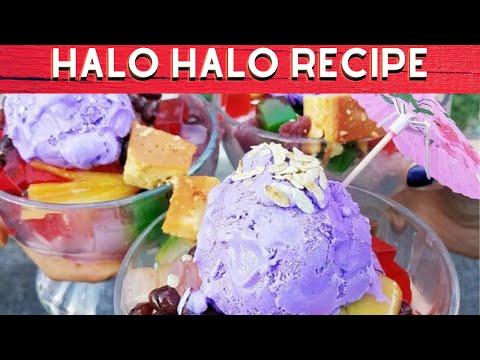 Halo Halo Recipe Filipino Dessert   COOKwithAPRIL