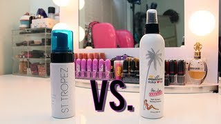 Product Showdown: St.Tropez Bronzing Mousse VS. Million