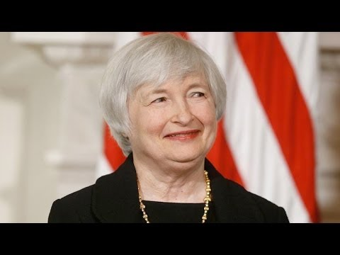 Stocks Jump for Janet Yellen on Capitol Hill Debut
