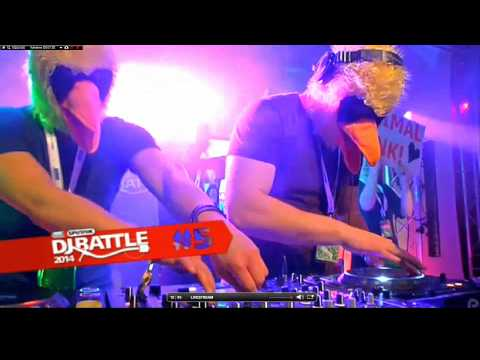 MDR Sputnik DJ Battle(2014) - ANIMAL FUNK!