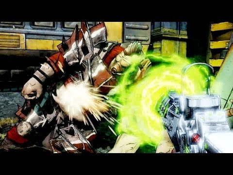 Borderlands 2 Slow Motion Green Laser Weapon #94