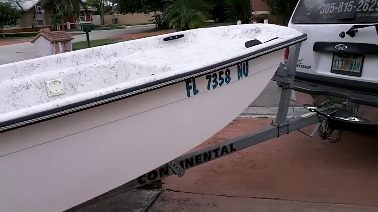 Buy Used Small 2008 Boat For Sale In Miami Like New