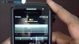 BlackBerry 7.1 FM Radio Feature