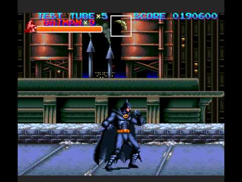 Batman Returns - Batman Returns SNES Playthrough - User video