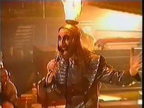 Thumbnail of video Kula Shaker feat. Arthur Brown - Mystical Machine Gun (live on TFI Friday, Feb 1999).