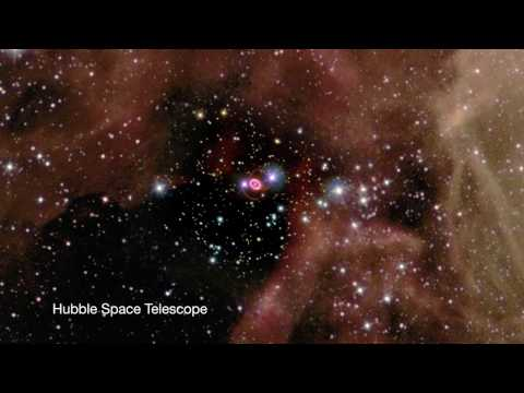Zooming Into Supernova 1987A [720p]