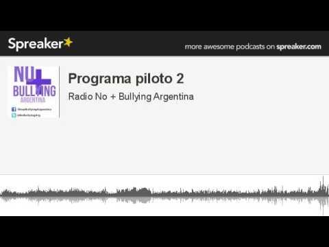 Programa piloto 2 para No + Bullying (Argentina)