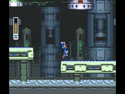Mega Man X - Flame Mammoth Stage - User video
