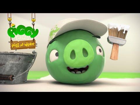 Piggy Tales - Prasatá v práci - Farba