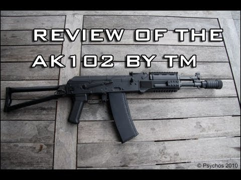 TM AK-102 Recoil/Shock REVIEW (2013)