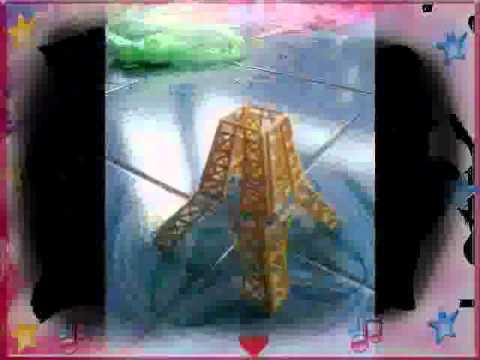Cách làm tháp Eiffel bằng tăm