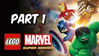 LEGO Marvel Super Heroes Gameplay Walkthrough Part 1