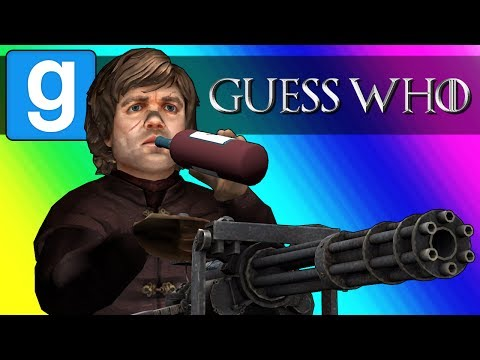 Gmod Guess Who Funny Moments  Game of Thrones Edition Garrys Mod