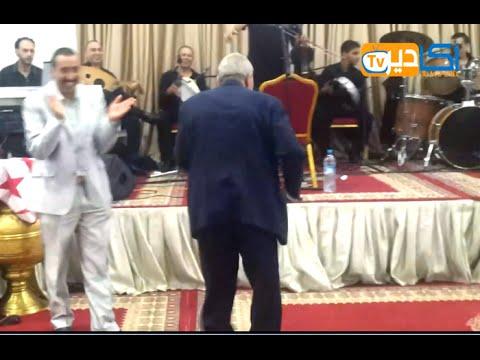 الحاج قيوح ناشط وكيشطح مع الستاتي في أغنية عطني الفيزا والباسبور