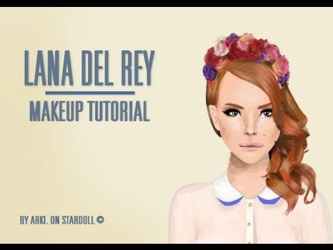 Stardoll Lana Del Rey transformation