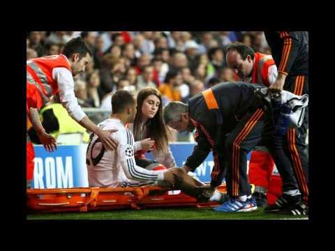 Jesé lesión en la pierna ( Real Madrid vs Schalke)