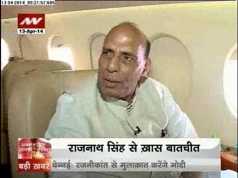 Rajnath Singh not to be in Narendra Modi's cabinet - Part 1