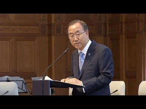"Ban Ki-moon tells Security Council ""give peace a chance"" in Syria"