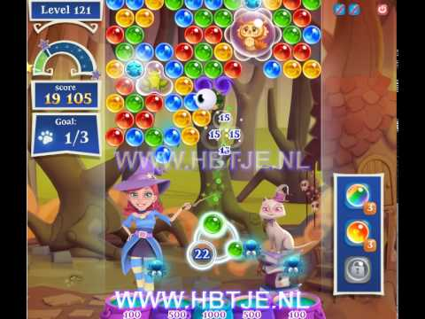 Bubble Witch Saga 2 level 121